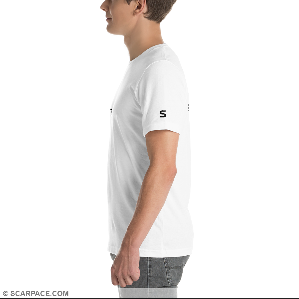 LIMITED EDITION: Men's T-Shirt, White #001