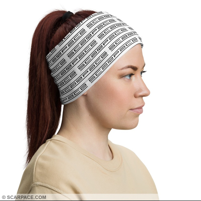 Pattern Neck Gaiter (Face Covering, Headband, Bandana, Wristband)
