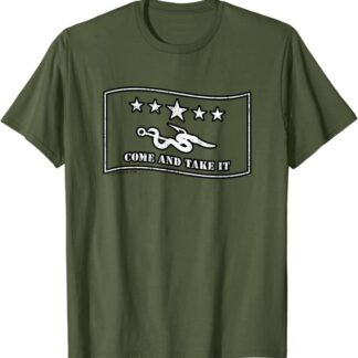 Come and Take It Hook & Worm Fishing Lure Fun Gift T-Shirt