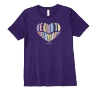 Be Kind Fun Happy Cute Graphic Short Sleeve Tee Fashion Top Premium T-Shirt