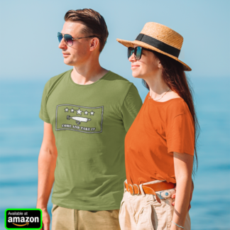 Come and Take It Topwater Popper Fishing Lure Gift T-Shirt